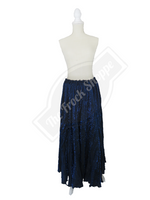 Navy Shimmer Catherine Skirt