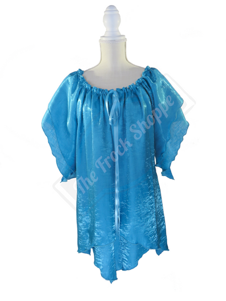 Turquoise Shimmer Renee Blouse