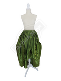 Avocado High-Low Convertible Bustle Skirt