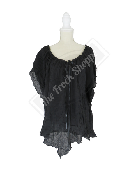 Black Renee Blouse
