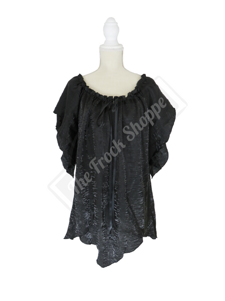 Black Shimmer Renee Blouse