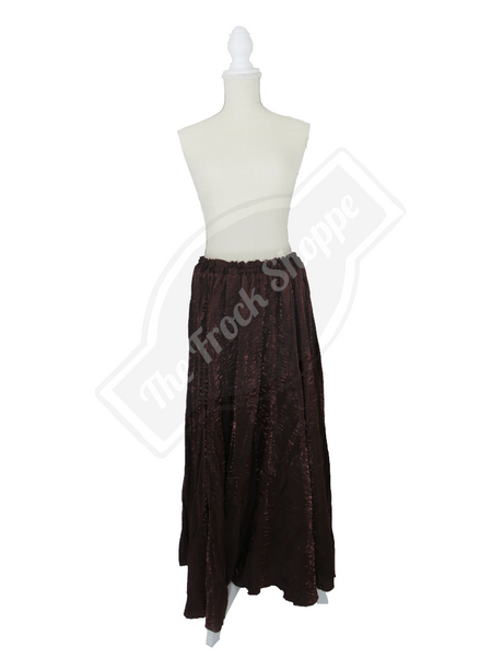 Brown Shimmer Catherine Skirt