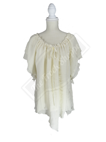 Cream Renee Blouse