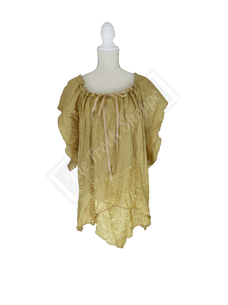 Gold Shimmer Renee Blouse