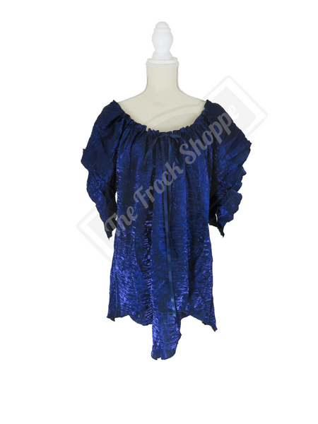 Navy Shimmer Renee Blouse