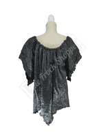 Pewter Shimmer Renee Blouse