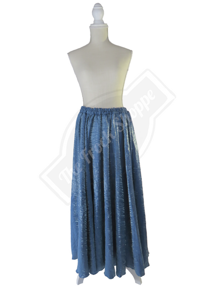 Slate Blue Shimmer Catherine Skirt