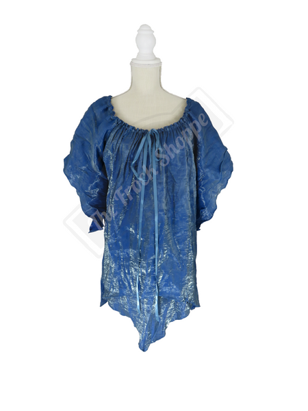 Slate Blue Shimmer Renee Blouse
