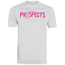 Load image into Gallery viewer, Prospects Wordmark Ribbon Men's Wicking T-Shirt
