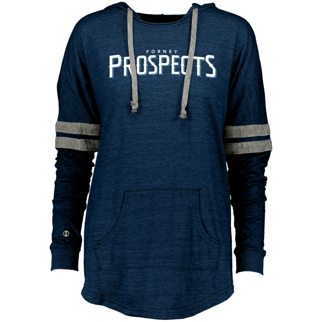 Forney Prospects WM Logo Ladies Hooded Low Key Pullover
