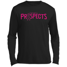 Load image into Gallery viewer, Prospects Wordmark Ribbon Long sleeve Moisture Absorbing T-Shirt