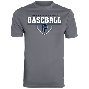 Plate Logo Men's Wicking T-Shirt