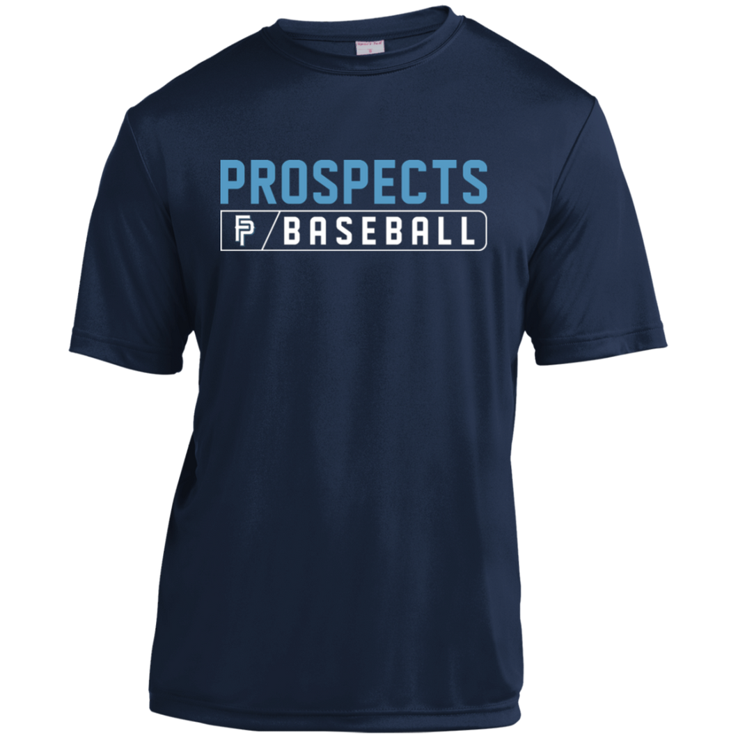 Prospects Baseball Bar Logo (Col) Youth Moisture-Wicking T-Shirt