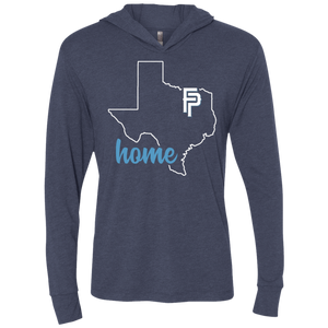 FP Home Unisex Triblend LS Hooded T-Shirt