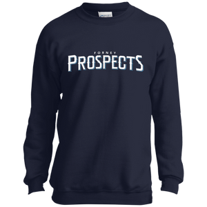 Forney Prospects WM Logo Youth Crewneck Sweatshirt