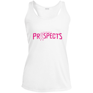 Prospects Wordmark Ribbon Ladies' Racerback Moisture Wicking Tank