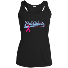 Load image into Gallery viewer, Prospects Ribbon Ladies' Racerback Moisture Wicking Tank
