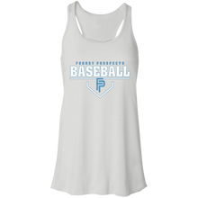 Load image into Gallery viewer, Plate Logo Flowy Racerback Tank