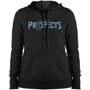 Prospects Wordmark Ribbon Ladies' Pullover Hooded Sweatshirt