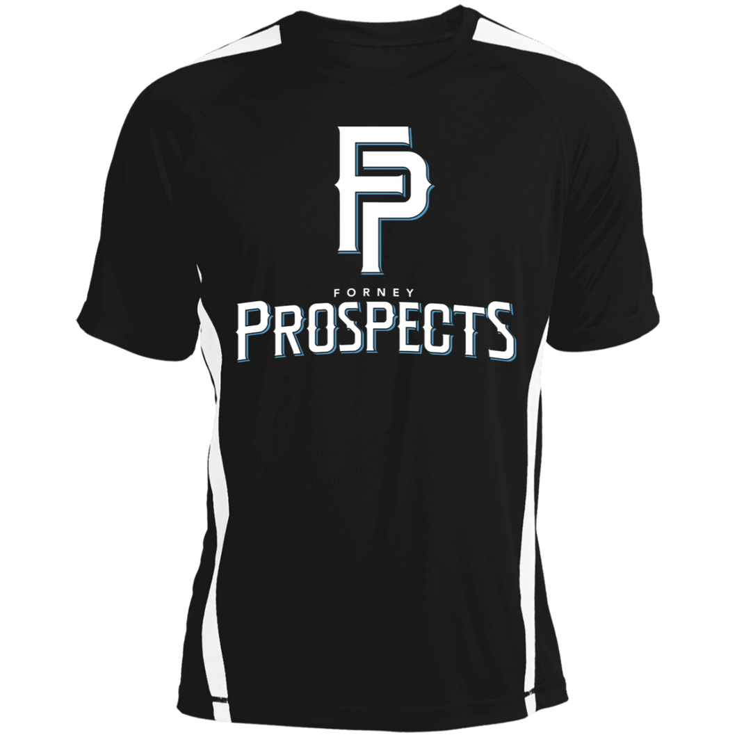 Prospects Full Logo Colorblock Dry Zone Crew