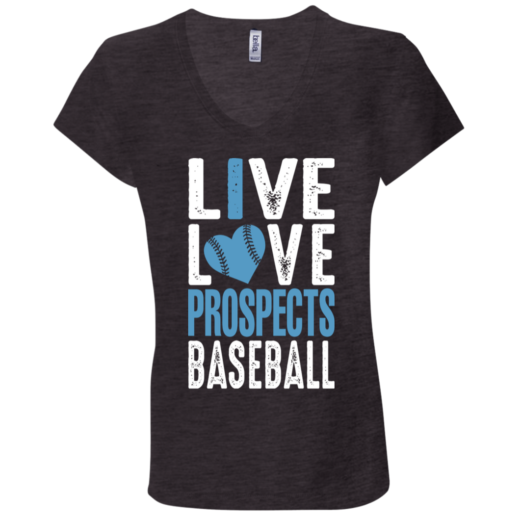 Live Love Prospects Ladies' Jersey V-Neck T-Shirt
