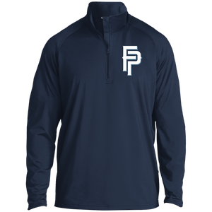 FP Logo Men's 1/2 Zip Raglan Performance Pullover