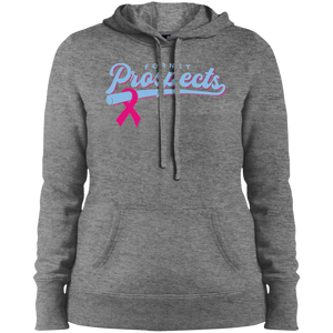 Prospects Ribbon Ladies' Pullover Hooded Sweatshirt