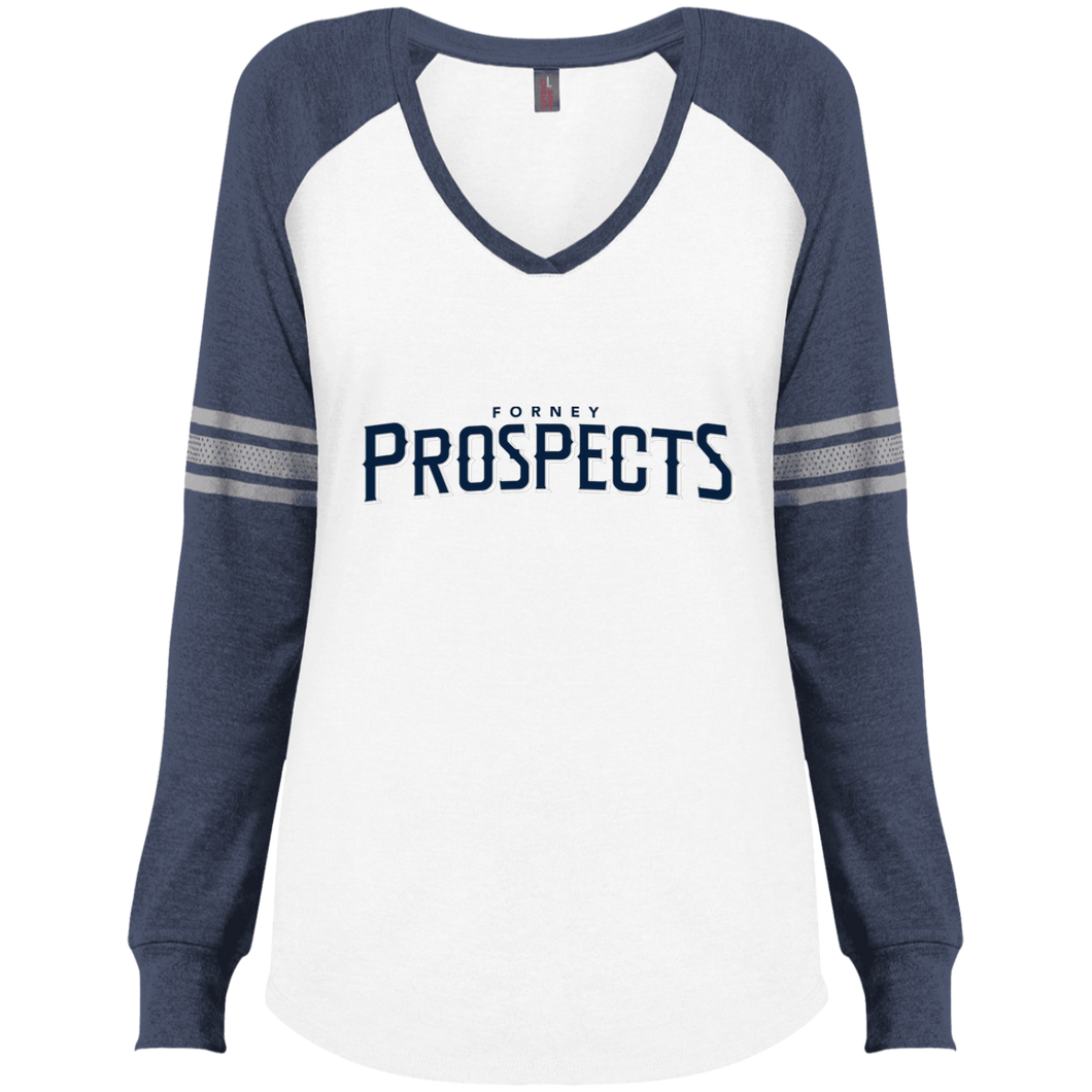 Forney Prospects WM Ladies' Game LS V-Neck T-Shirt