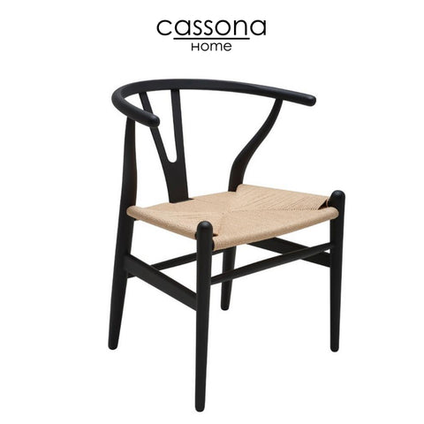 ALBAN DINING CHAIR BLACK