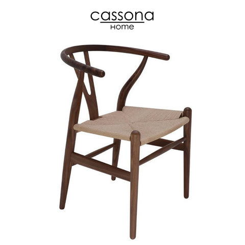 ALBAN DINING CHAIR BROWN