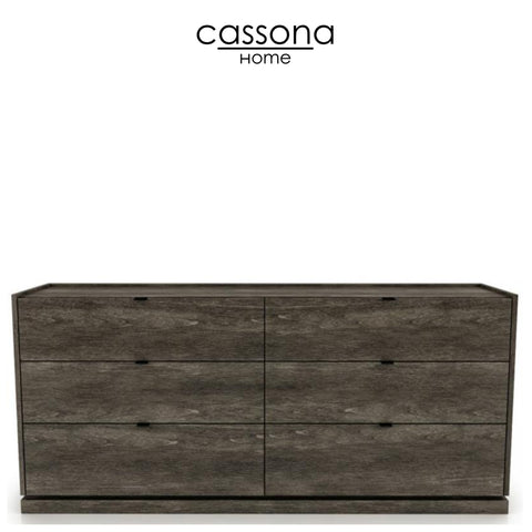 CLOÉ 6 DRAWER DRESSER