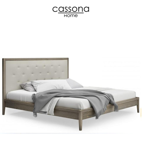 EDMOND UPHOLSTERED KING/QUEEN BED