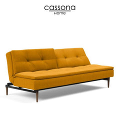 DUBLEXO STYLETTO SOFA BED DARK WOOD