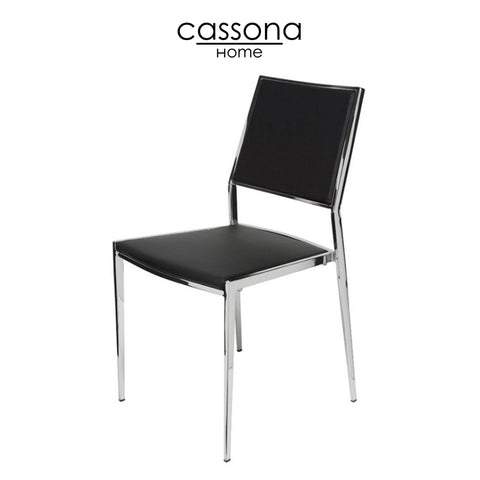 NORA DINING CHAIR BLACK