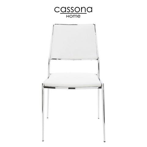 NORA DINING CHAIR WHITE