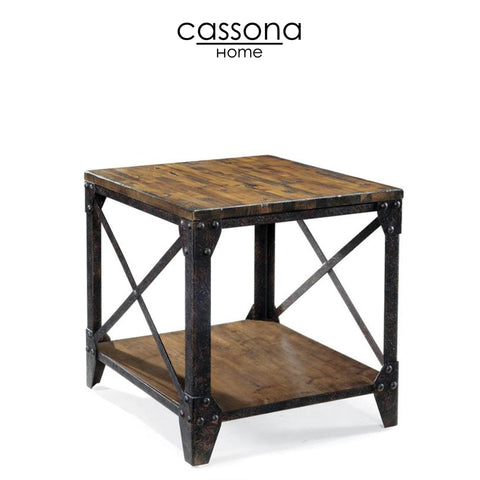 PINEBROOOK RECTANGULAR END TABLE