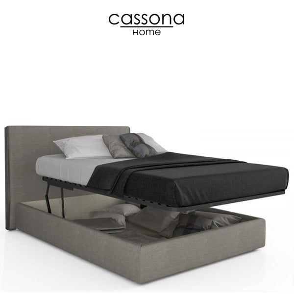 SERENO UPHOLSTERED STORAGE BED