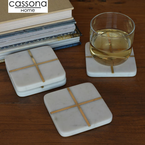 SQUARE MARBLE COASTER