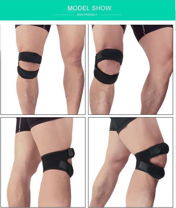 Multi-color Fitness Knee Support Brace
