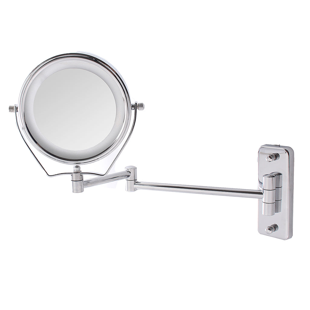7x Magnification LED Makeup Mirror Cosmetic Double-sided Vanity 6""