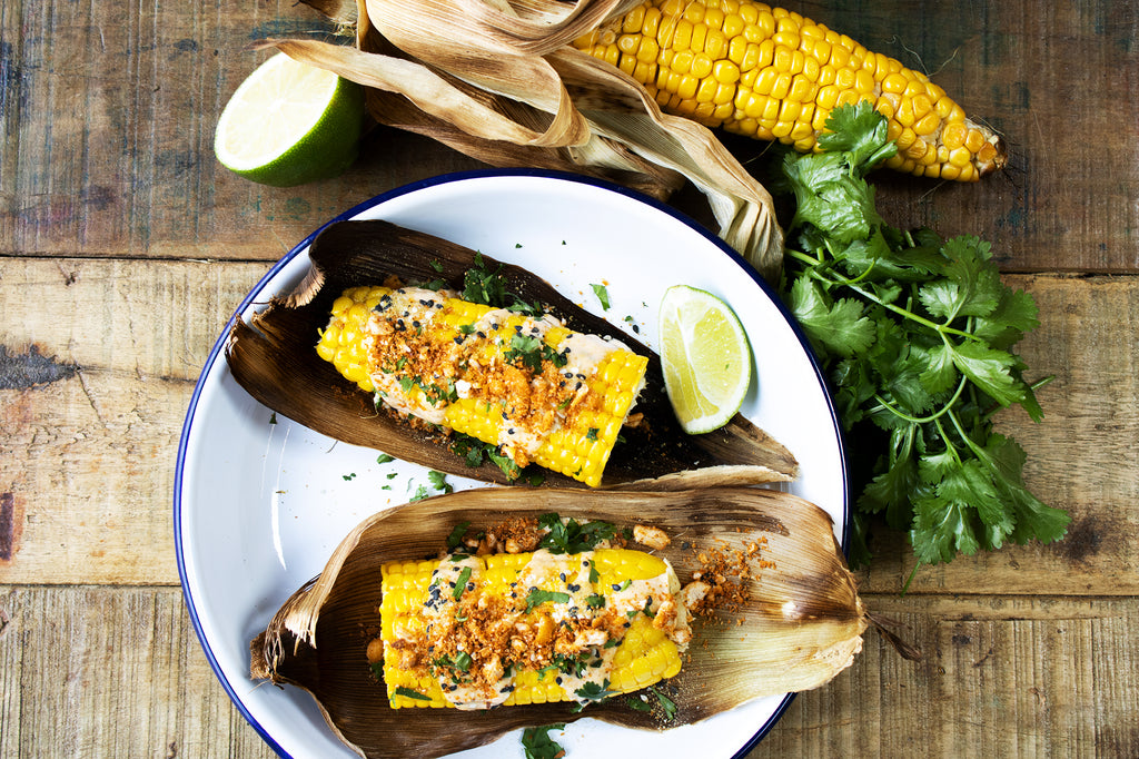 Mexican Street Food Recipe: 'Elote' Corn on the Cob
