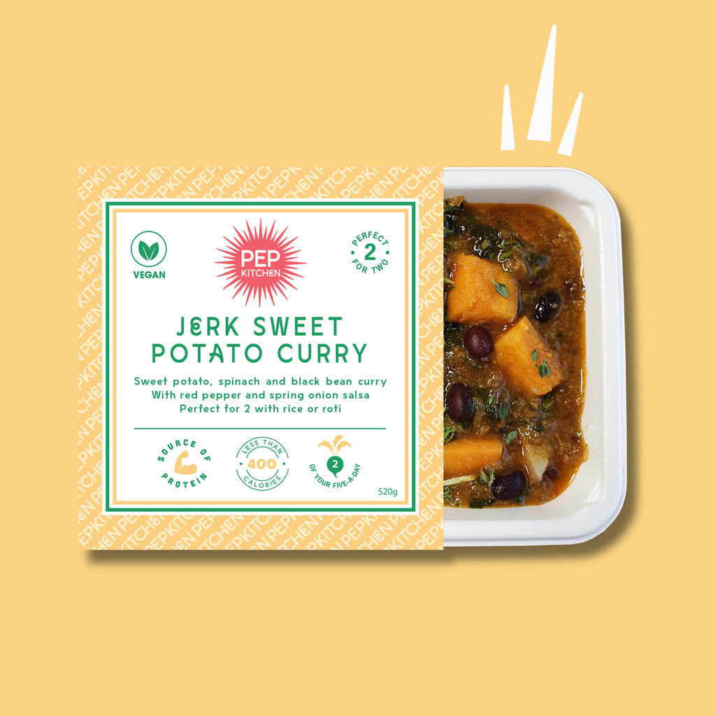 Jerk Sweet Potato Curry For Two