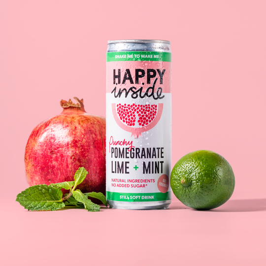 Happy Inside Pomegranate, Lime & Mint 250ml