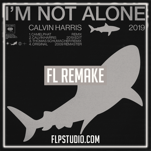 Calvin Harris - I'm not alone Camelphat Remix Fl Studio Remake (Tech House Template)