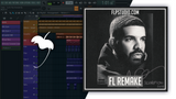 Drake - God's plan Fl Studio Remake (Hip-Hop Template)