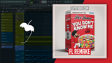 Jax Jones ft RAYE - You don't know me Fl Studio Template (House)