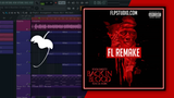FREE Pooh Shiesty - Back in blood ft Lil Durk Fl Studio Remake (Hip-Hop Template)