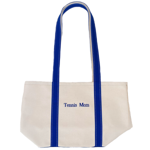 Tennis Mom Canvas Tote