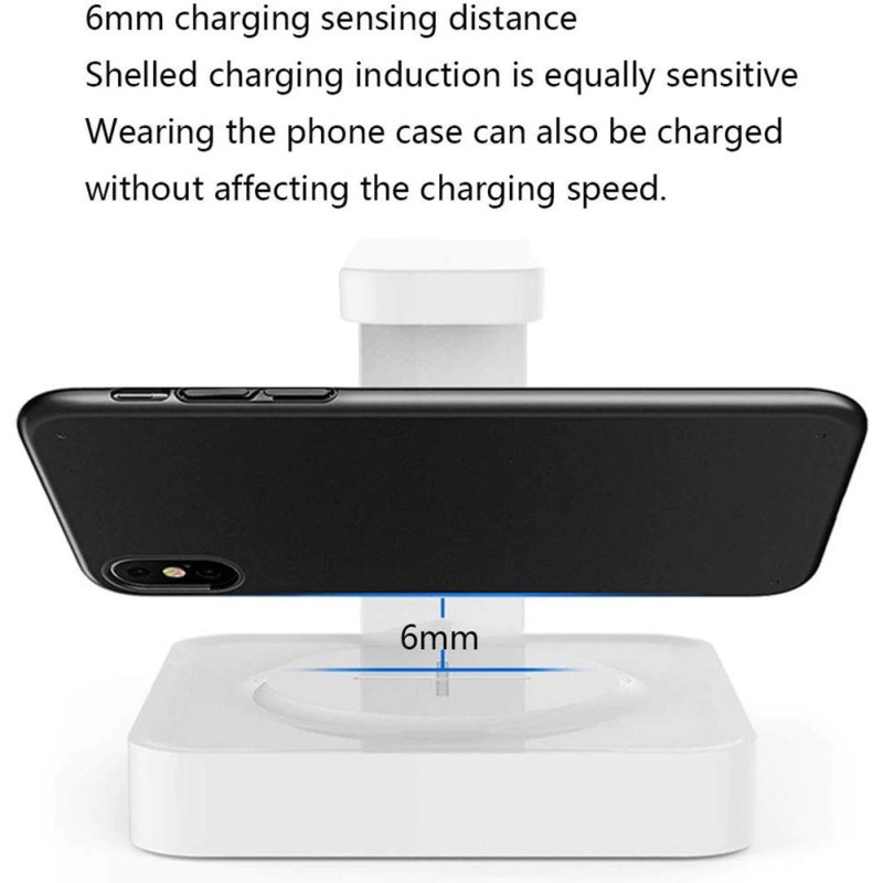 2-in-1 UV Sanitizer And Fast QI Wireless Charger