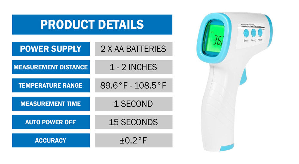 No-Contact Infrared Thermometer